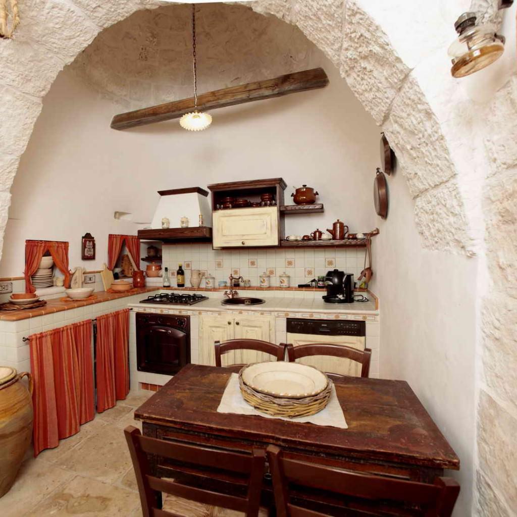 Il trullo masseria ebanisteria cucine for Modello di casa all interno